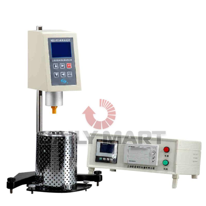 Digital Brookfield Rotational Viscometer Viscosity Meter NDJ-1D Fluidimeter