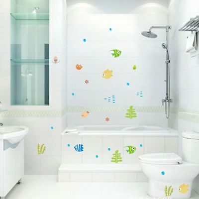 Fish Decor For Walls (Room Baby Room For Kid's Room Fish Decoration Wall Stickers Home)