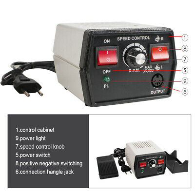 Dental Jewelry Marathon Micromotor Polisher And Handpiece 35k Rpm A18 Unit Lab