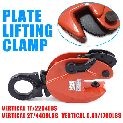 Vertical Plate Lifting Fixture Clamp 0.8t1t2t Industrial Heavy Duty Equipment