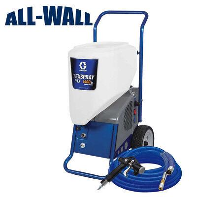 Professional Drywall Texture Sprayer Graco Rtx 1400si Fine Spray Orange Peel
