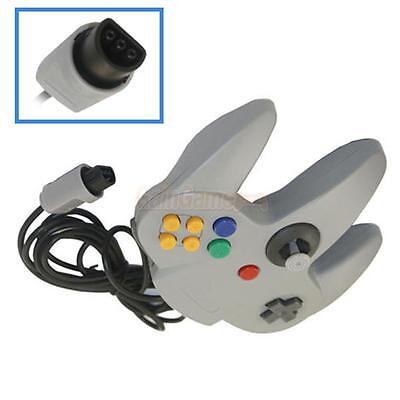 Brand New Long Game Handle Controller for Nintendo 64 Grey