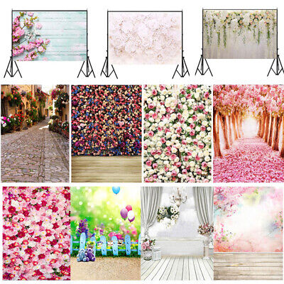 Wedding Flower Wall 3x5ft/5x7ft Photography Floral Background Backdrops Prop USA - Wall Backdrops