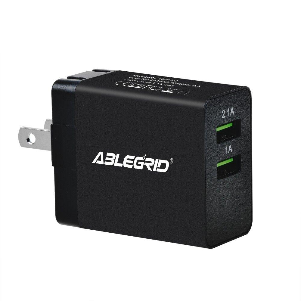 5V 1A/2.1A 2 USB Ports Power Charger for AMAZONBASICS BTV1 A