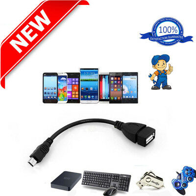 Mini Micro Usb Host Otg Cable Adapter Data Sync Charging Cable Connector