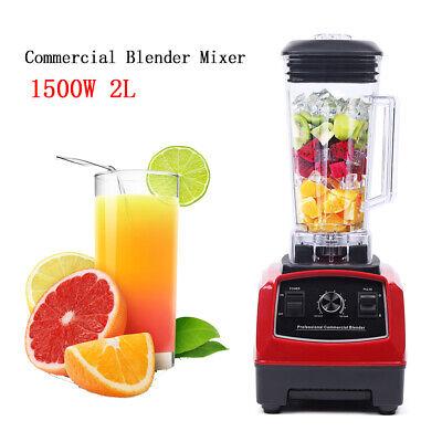 Heavy Duty 2l Commercial Blender Mixer Juicer Food Processor Smoothie Blender