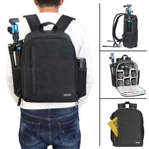 CADeN D6 Black Waterproof Camera Bag Backpack for Canon Niko