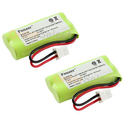2 Cordless Home Phone Battery Pack for VTech BT166342 BT266342 BT183342 BT283342