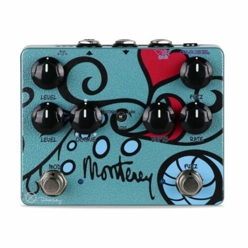 Keeley Monterey Rotary Fuzz Vibe Guitar Effects Pedal MAKE OFFER