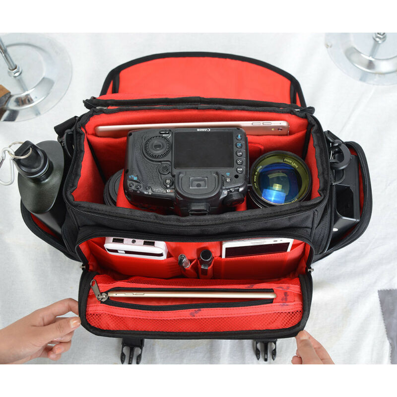CADEN D12 Medium Camera Bag Case For Nikon Canon Sony DSLR C