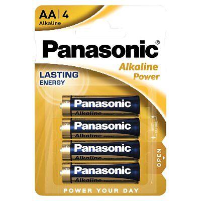Pack de 4 Pilas Alcalinas PANASONIC Modelo AA de 1.5 V en...