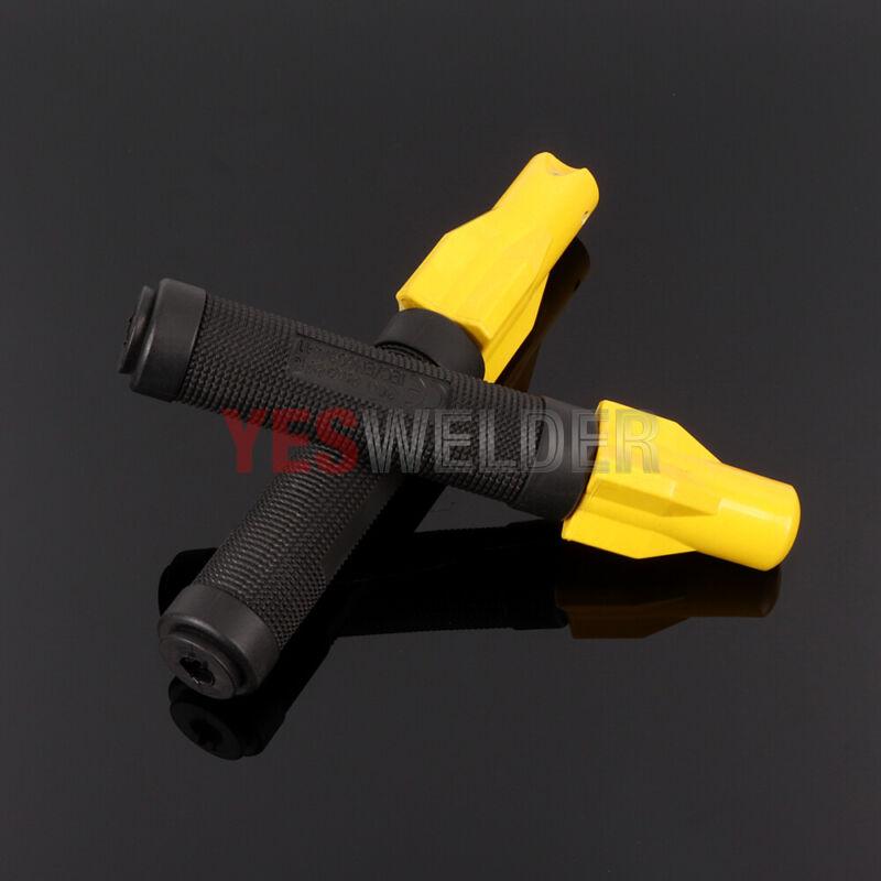 MMA ARC Stick Welding Electrode Holder 300A&500Amp Head-Screw twist type-2pk