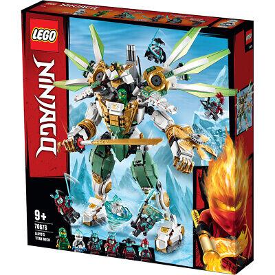 Lego Ninjago Lloyd's Titan Mech Building Set - 70676