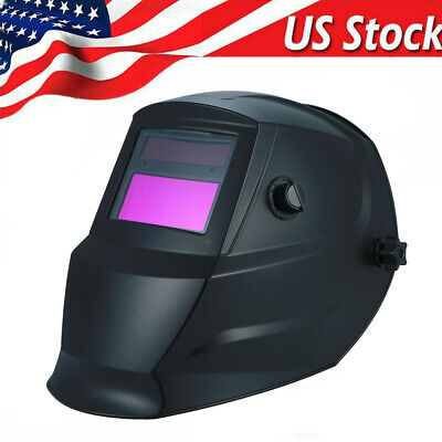 Solar Auto Darkening Welding Helmet ARC TIG MIG Plasma Welders Shield US R1E3