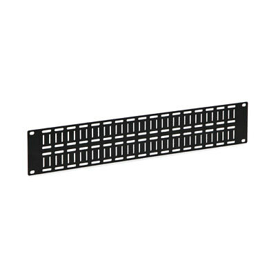 - Kendall Howard 2U Flat Cable Lacing Panel - 10 Pack USA Made 1903-1-012-02