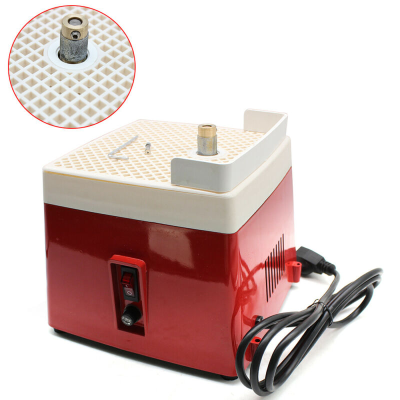 Mini Automatic Water Stained Glass Grinder DIY Desktop Grinding Machine 110V