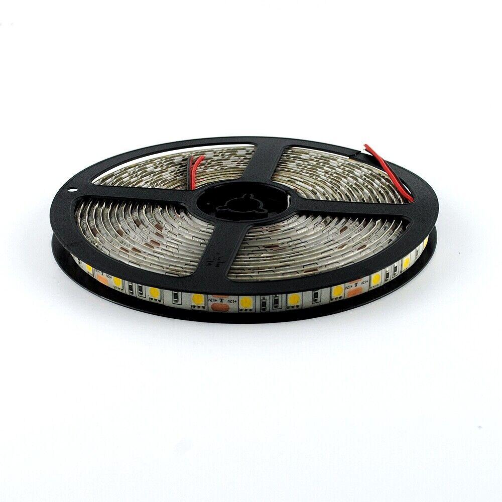 5m led lichterkette 3528 smd strip streifen band leiste wasserdicht hot sale ebay. Black Bedroom Furniture Sets. Home Design Ideas