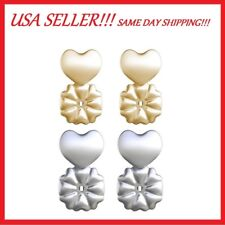 NEW!! MagicBax Earring Backs Hypoallergenic Fits all Post Earrings As Seen on TV