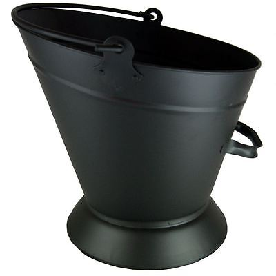 Waterloo Bucket Black Vintage Antique Fireplace Coal Fire New By Home Discount