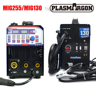 130a Mig Welder Gasless 110v 200a Mig Stick Flux Core Wire Automatic 110220v