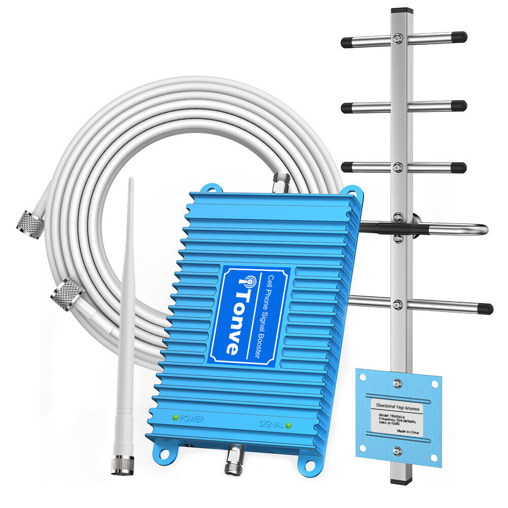 Home AT&T Cell Phone Signal Booster GSM CDMA 850MHz Band 5 F
