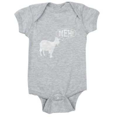 CafePress Goat Meh Cute Infant Bodysuit Baby Romper