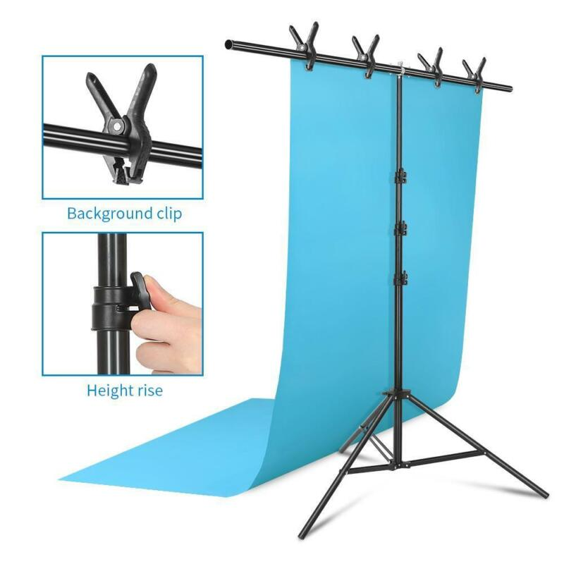 Photo 6.5feet Backdrop Stand T-Shape Background Backdrops Support Kit