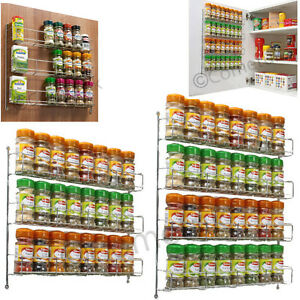 Herb Rack Wall Mountable Or Kitchen Cupboard Storage