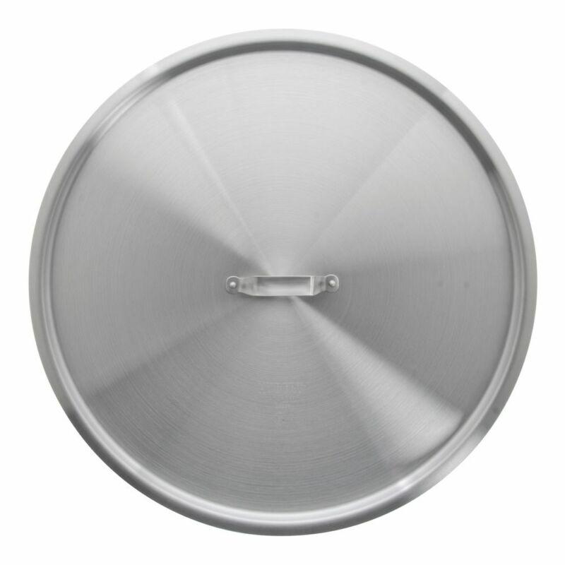 "HUBERT® Aluminum Cover for 35 qt Brazier - 22 2/5""Dia"