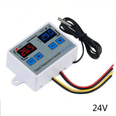 Digital Thermostat C/F Temperature Controller for incubator Relay  10A X6P3