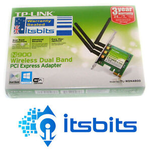 TP-LINK-TL-WDN4800-WIRELESS-N-PCI-E-DUAL-BAND-5GHz-2-4GHz-NETWORK-CARD-450MBPS