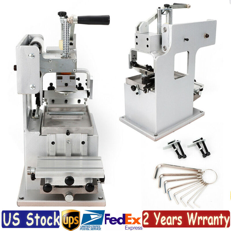 Manual Pad Printing Printer Press Machine Single-color Label Logo Printer DIY