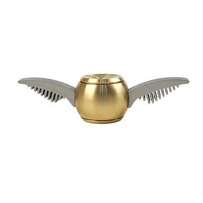 Gold Snitch Harry Potter  Fidget Spinner Hand Toy Metal US Seller