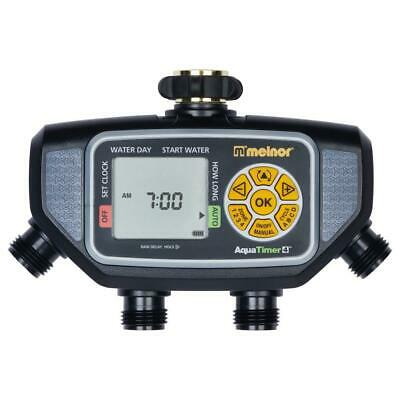 Electronic 4 Zone Water Timer Sprinkler Hose Programmable Digital Display