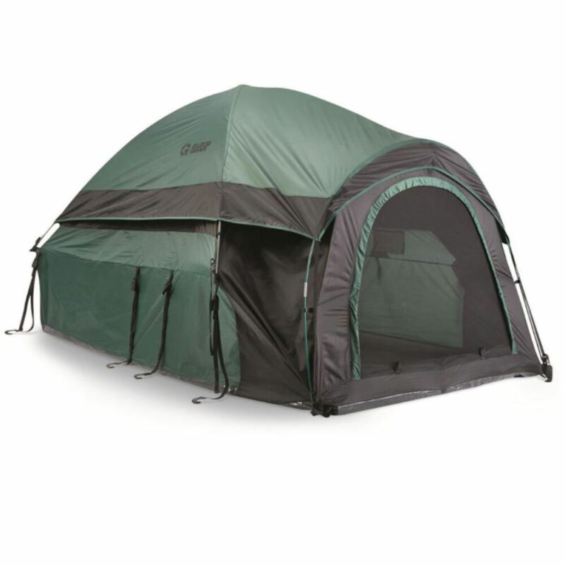 Guide Gear Full Size Fully Enclosed Truck Tent Camping Shelter (Open Box)