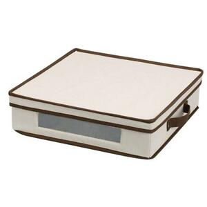New  Household Essentials 537 Vision Storage Box with Lid and Handles Condition: New  | Charger Plates and Platters |...