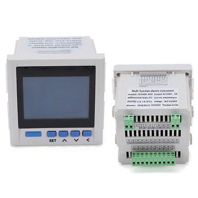 3phase Digital Voltage Wattmeter Power Analyzer Electronic Power Energy Meter Us