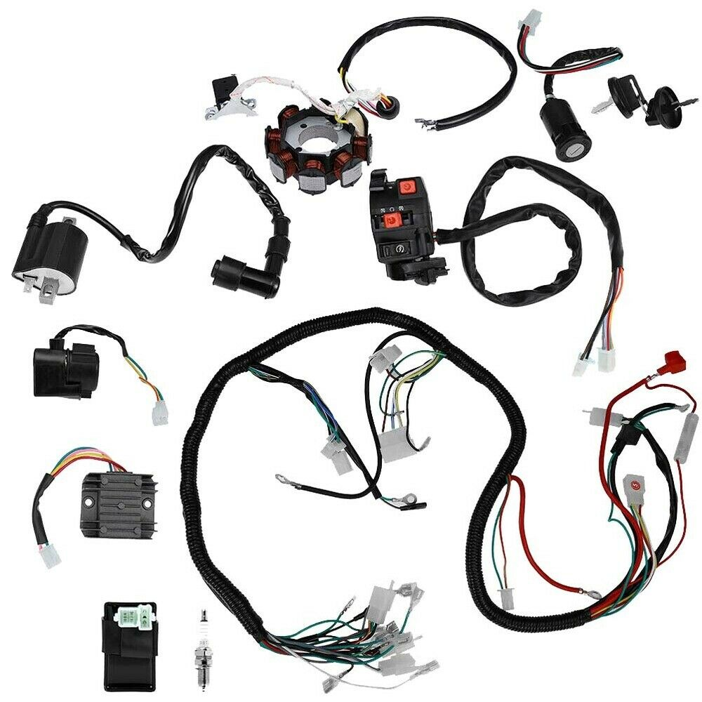 CDI Electric Wiring Harness Loom 150/ 200/ 250CC ATV
