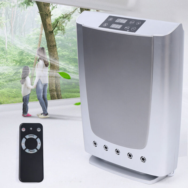 Plasma & Ozone Air Purifier Cleaner Filter to Remove Odor Dust Mold Smoke 16W