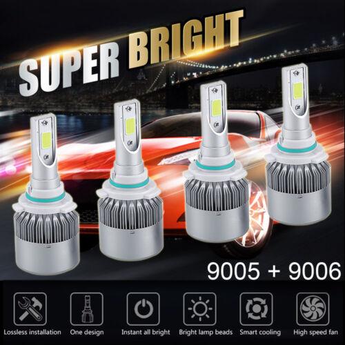 Светодиодная лампа для легкового или грузового автомобиля 9006+9005 CREE  LED Headlight 3700W