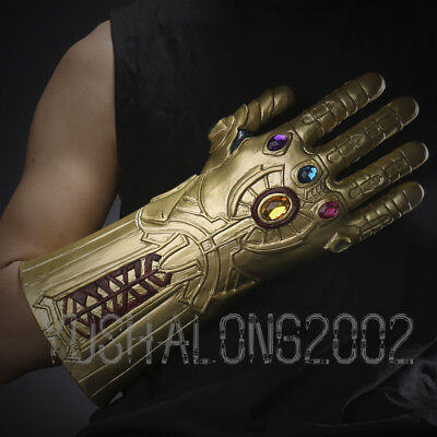 Captain America Handschuhe (Iron Man Thanos Cosplay costume Kostüm Captain America Handschuhe Armschutz)