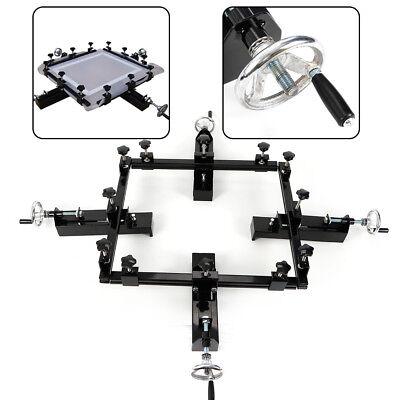 High Precise 24 X 24 Stretcher Manual Silk Screen Stretching Machine Us Stock