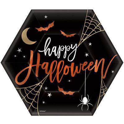Halloween Papierteller X - Halloween Papier Platten