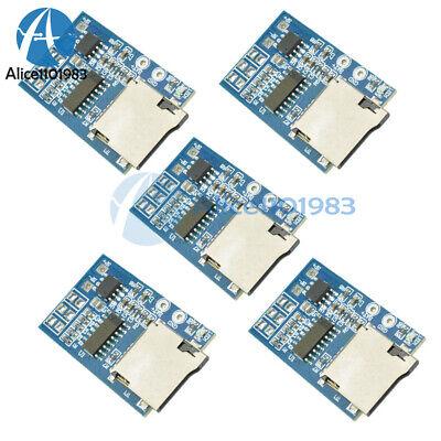 5pcs Gpd2846a Tf Card Mp3 Decoder Board 2w Amplifier Module For Arduino