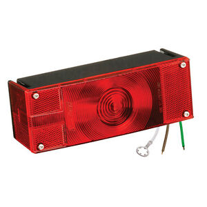 Wesbar Low Profile 8 Function Driver/Left Roadside Tail Light for Trailer >80