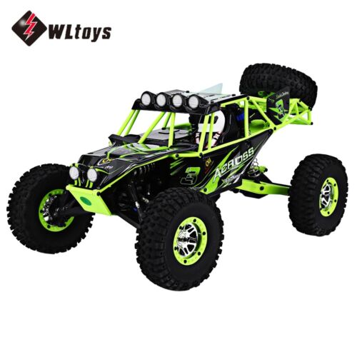 Wltoys 10428 2.4g 1:10scale Rc Car High Speed Off-road Racing Wild Track Eu Plug 0