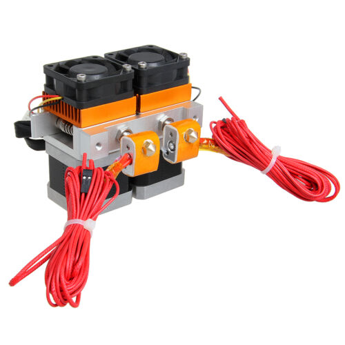 Geeetech Updated MK8 Dual Extruder 2 Print Head for Prusa Mendel 3D Printer