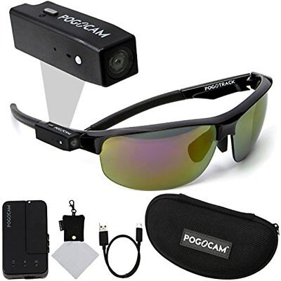 Pogocam Wearable Camera   Pogotec Ags Black Pacific Frames Including Accessories