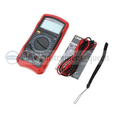 Uni-t Ut51 Standard Dcac Voltage Current Resistance Dmm Lcd Digital Multimeter