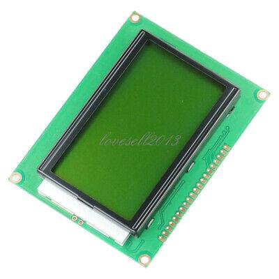 5v 12864 Lcd Display Module 128x64 Dots Graphic Matrix Yellow Green Backlight